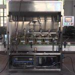 Поршневая автоматическая машина для розлива масла в бутылки 1-5л