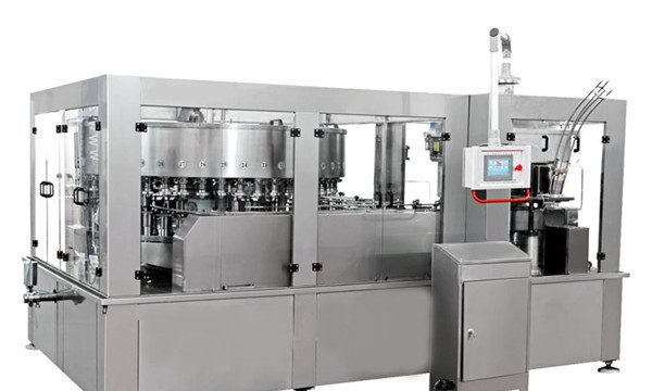 Машина для наполнения алюминиевых банок для энергетических напитков