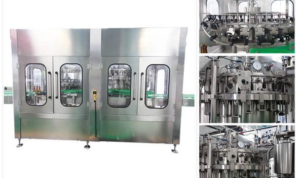 Автоматическая машина для наполнения бутылок из-под вина