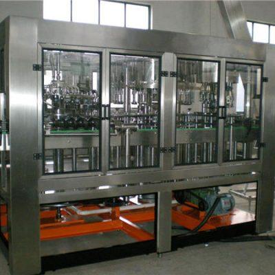 Автоматическая машина для розлива воды в стеклянные бутылки