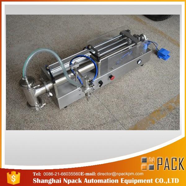 Полуавтоматическая поршневая разливочная машина Ideal разливочная машина