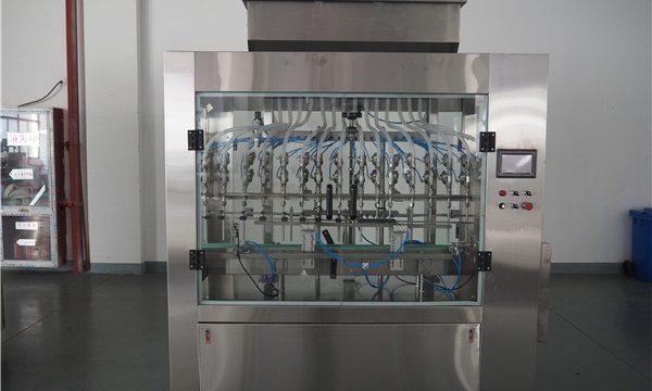 Автоматическая машина для наполнения жидких сред 12 атмосфер