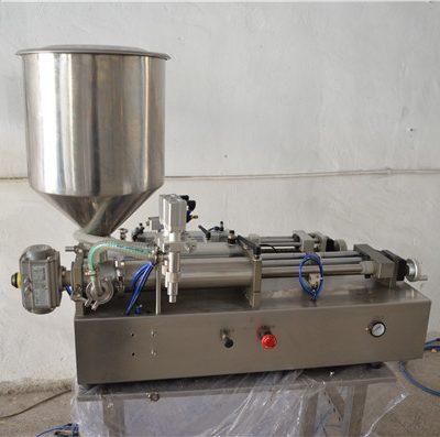 Полуавтоматическая ручная разливочная машина для косметики