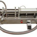 Полуавтоматическая высоковязкая разливочная машина Lliquid для меда