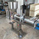 Полуавтоматическая машина для наполнения меда с одной головкой