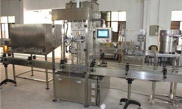 Автоматическая машина для наполнения бутылок шампунем