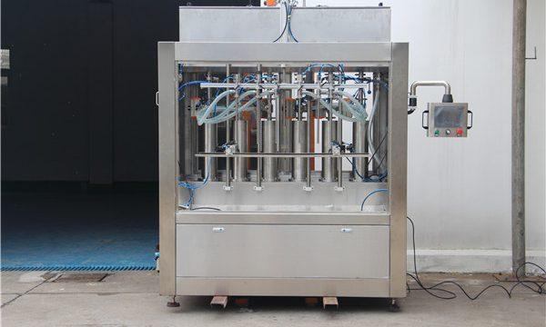 Pure пневматическая полуавтоматическая машина для фасовки томатного соуса