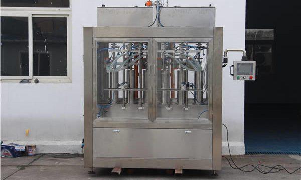 Автоматическая машина для наполнения джем-бутылок