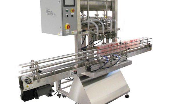 Автоматическая машина для наполнения бутылок и поршней
