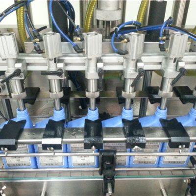 Автоматическая машина для заправки маслом с 6 головками