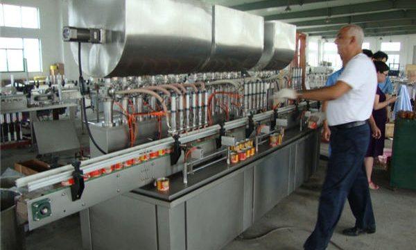 Автоматическая машина для наполнения соевого соуса 200-1000мл