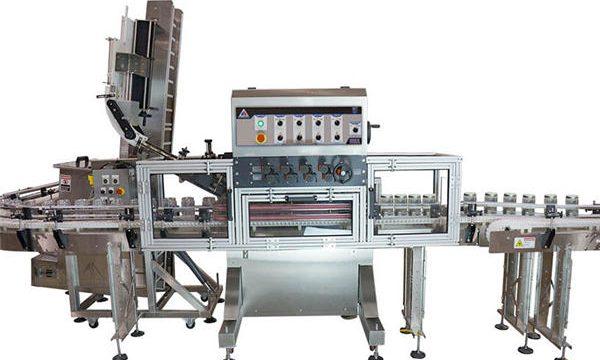 Автоматическая машина для фасовки горячего соуса с пневматическим насосом