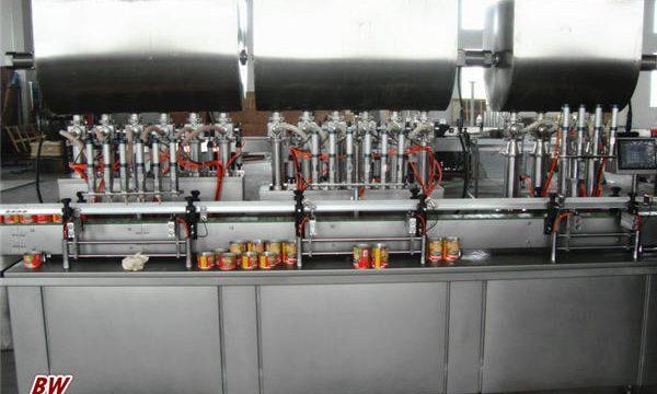Автоматическая машина для фасовки горячего соуса для пиццы