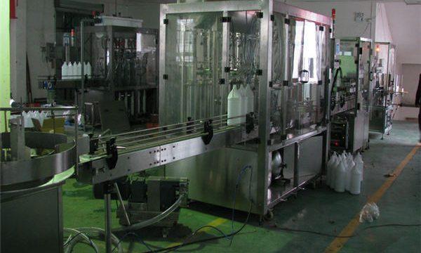 Автоматическая машина для наполнения шампуней / Машина для розлива шампуней / Линия розлива шампуней