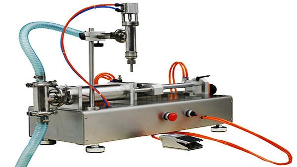 Двухголовочная пневматическая машина для наполнения сливок 100-1000мл