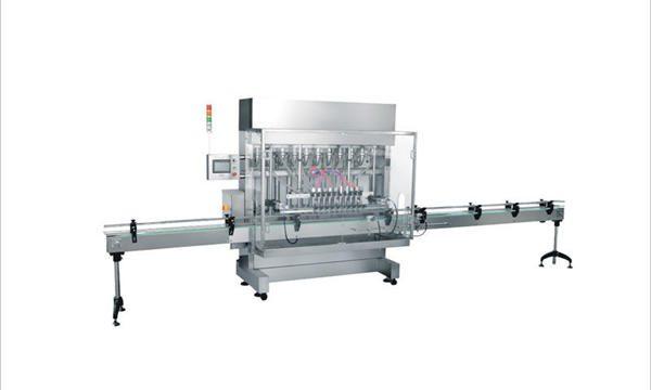 Автоматическая машина для наполнения жидких моющих средств с 4 головками