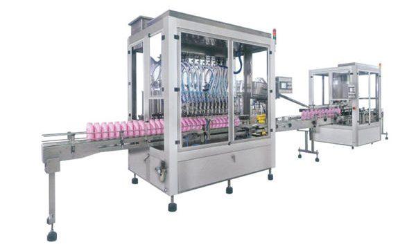 Автоматическая машина для фасовки моющих средств из нержавеющей стали