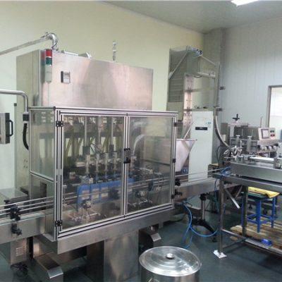 Автоматическая машина для наполнения моторных масел с 6 головками