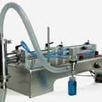 Полуавтоматическая поршневая разливочная машина нового дизайна
