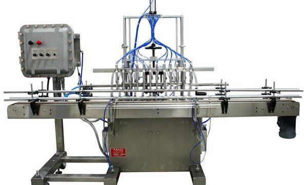 Автоматическая поршневая разливочная машина 50мл-1л