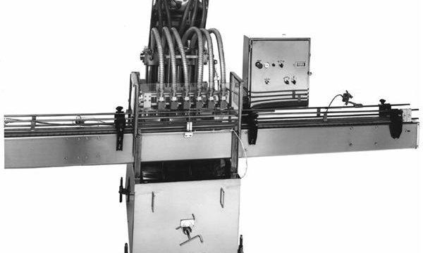 Поршневая машина для розлива растительного масла