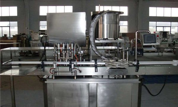 Автоматическая поршневая разливочная машина