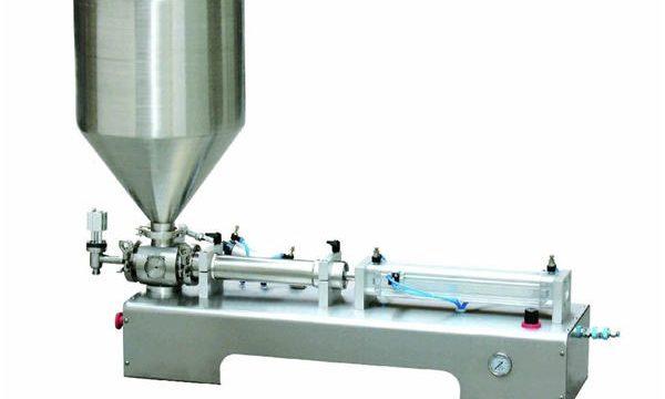 Пневматическая поршневая разливочная машина, Толстая кремовая поршневая разливочная машина