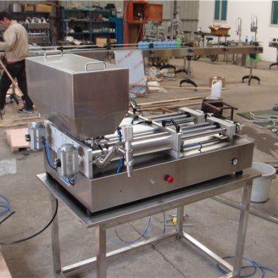 Самая дешевая пневматическая полуавтоматическая машина для наполнения джемов