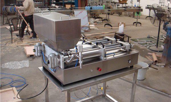 Полуавтоматическая машина для фасовки соусов