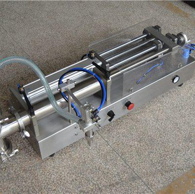 полуавтоматическая машина для наполнения шампуней